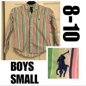 🌻🌷💐Boys Small Ralph Lauren Collared Shirt!